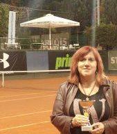 Την 2η θέση στην κατηγορία consolation κατέκτησε η `Αρτεμις Σωτηροπούλου στο όπεν του Α.Ο.Α. Φιλοθέης